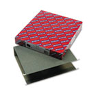 Three Inch Capacity Box Bottom Hanging File Folders, Letter, Green, 25/Box SMD64279