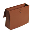 5 1/5 in Accordion Expansion Wallet, 11 3/4 x 9 1/2, Redrope SMD71073