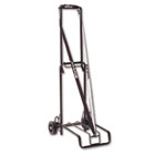 Luggage Cart, 125lb Capacity, 13 x 10 Platform, Black Steel STB390002BLK