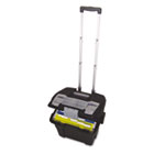 Premium File Cart, 15w x 16 3/8d x 14 1/4h, Black STX61507U01C
