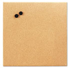 Magnetic Canvas Cork Board, 17 x 17, Unframed Cork BDU19163UA4
