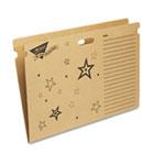 Save System Bulletin Board Folder, 27-1/4 x 18-1/2, Bright Stars Design TEPT1021