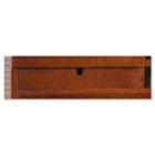 Sorrento Hutch Letter Trays, 16¾w x 13d x 2¾h, Bourbon Cherry, 2/Set MLNSHLTSCR