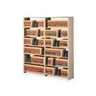 Snap-Together Seven-Shelf Closed Add-On Unit, Steel, 36w x 12d x 88h, Sand TNN1288ACSD