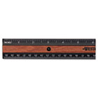 "KleenEarth Recycled Plastic Ruler With Microban Protection, 12"" ACM14077"