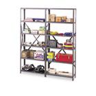 "Industrial Post Kit, for 36"" & 48"" Wide Shelves, Medium Gray TNNIPB871MGY"