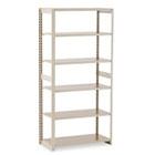 Regal Shelving Add-On Unit, Six-Shelf, 36w x 18d x 76h, Sand TNNRGL1836ASD