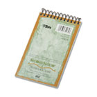 Second Nature Subject Wirebound Notebook, Narrow Rule, 3 x 5, WE, 50 Sheets TOP74135