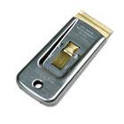 """Safety Scraper, 1 1/2"""" Wide, 4"""" Steel Handle UNGSR50"""