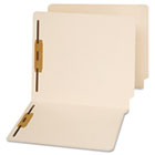 End Tab Folders, Two Fasteners, Letter, Manila, 50/Box UNV13120