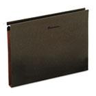 Box Bottom Hanging Folders, One Inch, Letter Size, Pressboard, Standard Green, 25/Box UNV14141