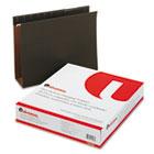 Box Bottom Hanging Folders, Three Inch, Letter Size, Pressboard, Standard Green, 25/Box UNV14143