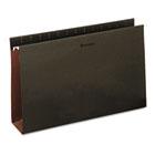 Box Bottom Hanging Folders, Three Inch, Legal Size, Pressboard, Standard Green, 25/Box UNV14153