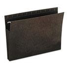 Hanging Box Bottom File Pockets, Letter Size, 3.5 Inch Expansion, 11 Pt. Stock, Standard Green, 10/Box UNV14160