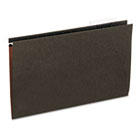 Hanging File Folders, Legal Size, 1/3 Tab, 11 Pt. Stock, Standard Green, 25/Box UNV14213