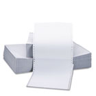 Two-Part Carbonless Paper, 15lb, 9-1/2 x 11, Perforated, White, 1650 Sheets UNV15703