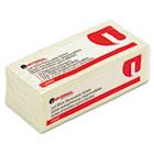 Standard Self-Stick Notes, 1-1/2 x 2, Yellow, 12 100-Sheet Pad/Pack UNV35662