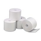 "Single-Ply Thermal Paper Rolls, 2 1/4"" x 85 ft, White, 3/Pack UNV35761"
