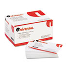 Unruled Index Cards, 4 x 6, White, 100/Pack UNV47220