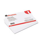 Unruled Index Cards, 5 x 8, White, 100/Pack UNV47240