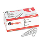 Paper Clips, Smooth Finish, No. 1, Silver, 1000/Pack UNV72210
