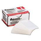 Clear Laminating Pouches, 5 mil, 2 3/16 x 3 11/16, Business Card Size, 100/Box UNV84642