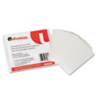 Clear Laminating Pouches, 5 mil, 2 1/8 x 3 3/8, Business Card Style, 25/Pack UNV84650