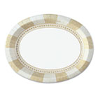 "Sage Collection Oval Platters, 8 /12"" x 11"", 125/Pack DXESX11PLSAGE"