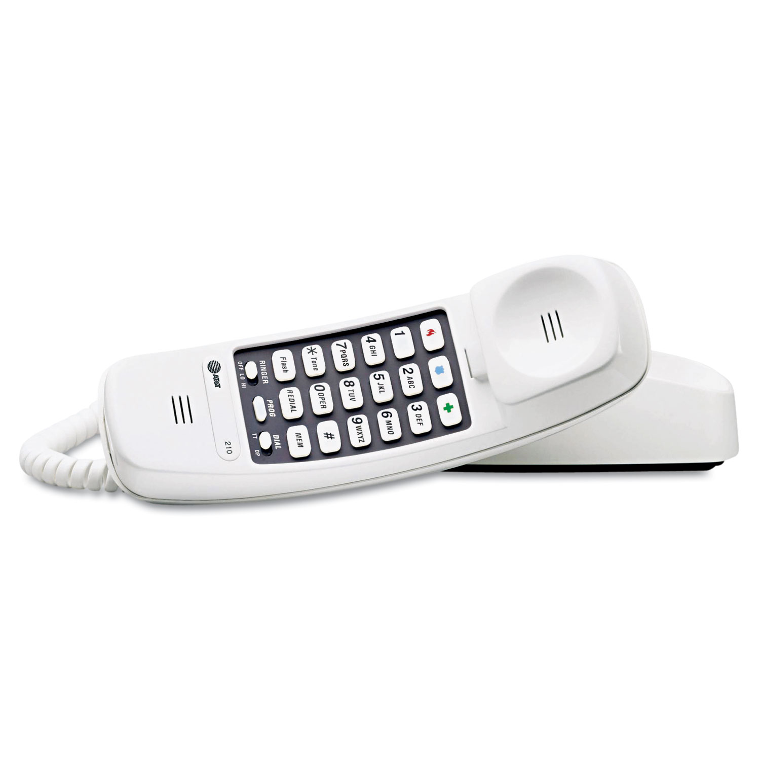 PHONE,210W,TRIMLINE,WHT