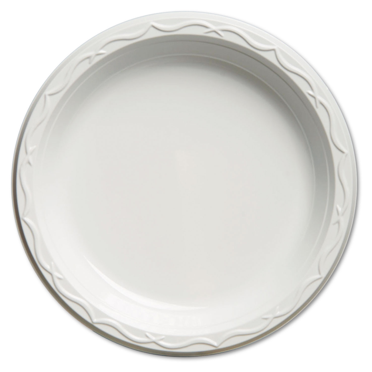 PLATE,PLS,9IN,WHI 4/125