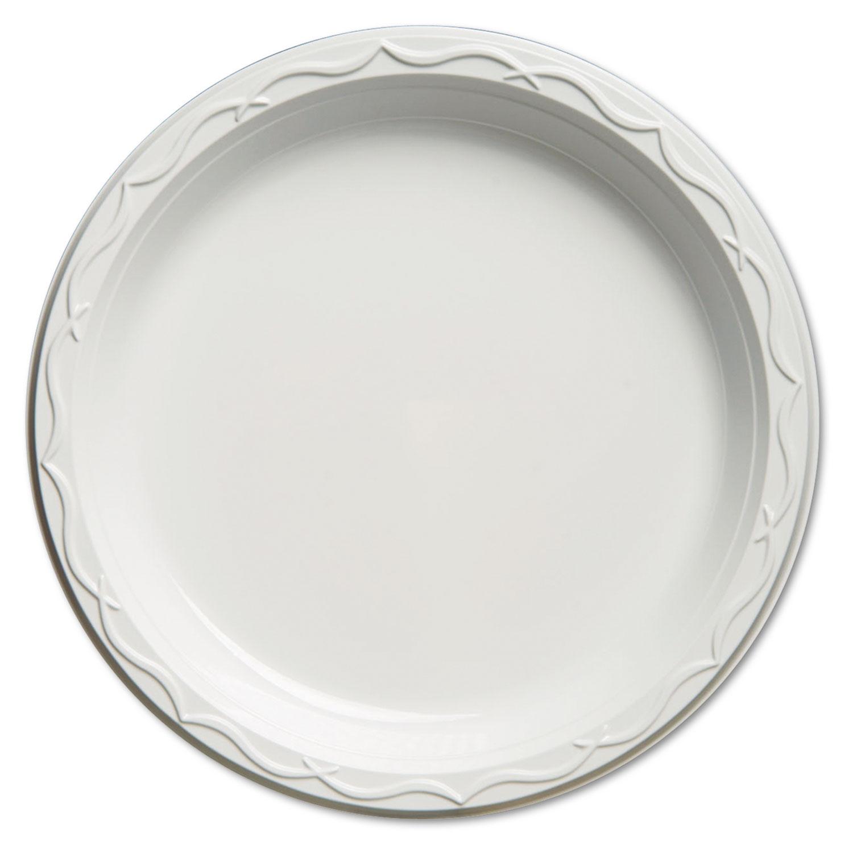 PLATE,PLAS,10.25,WH