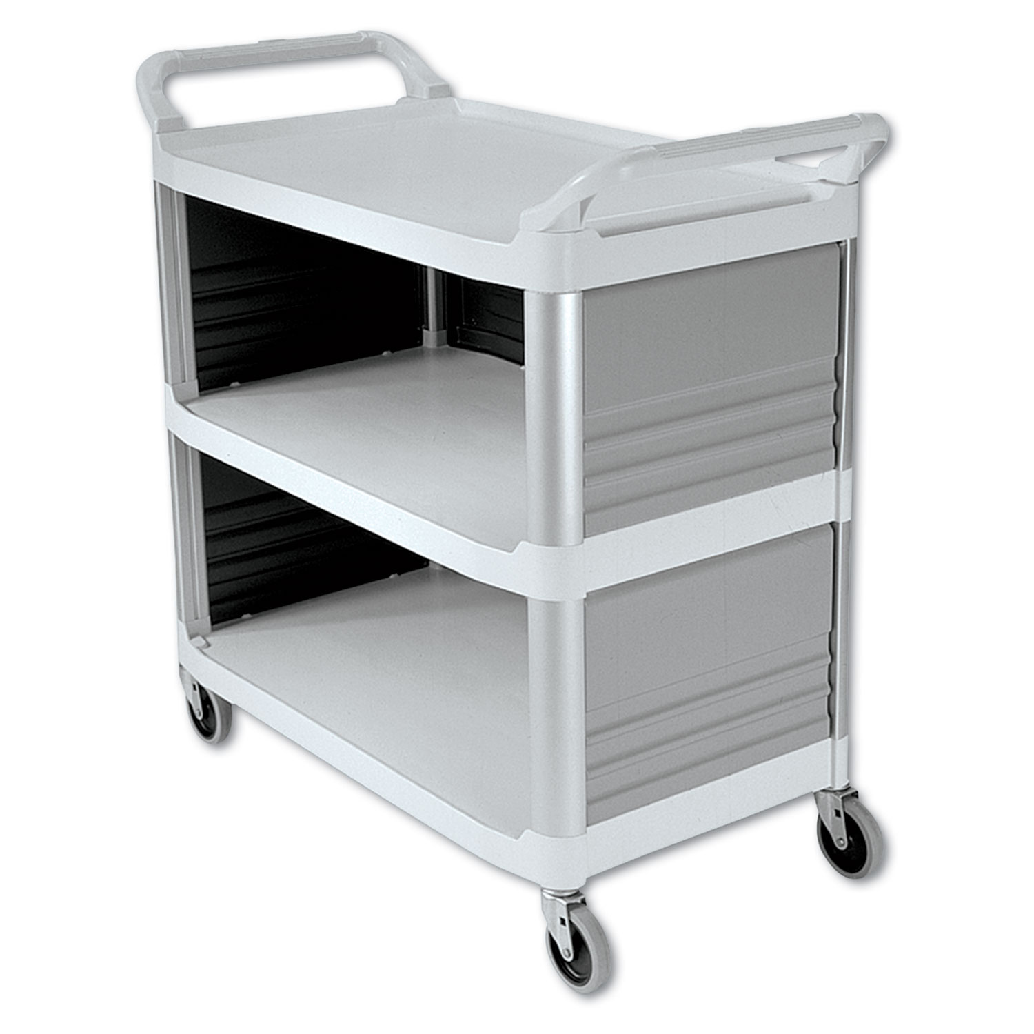 CART,GLOBAL 3 SIDES,WH