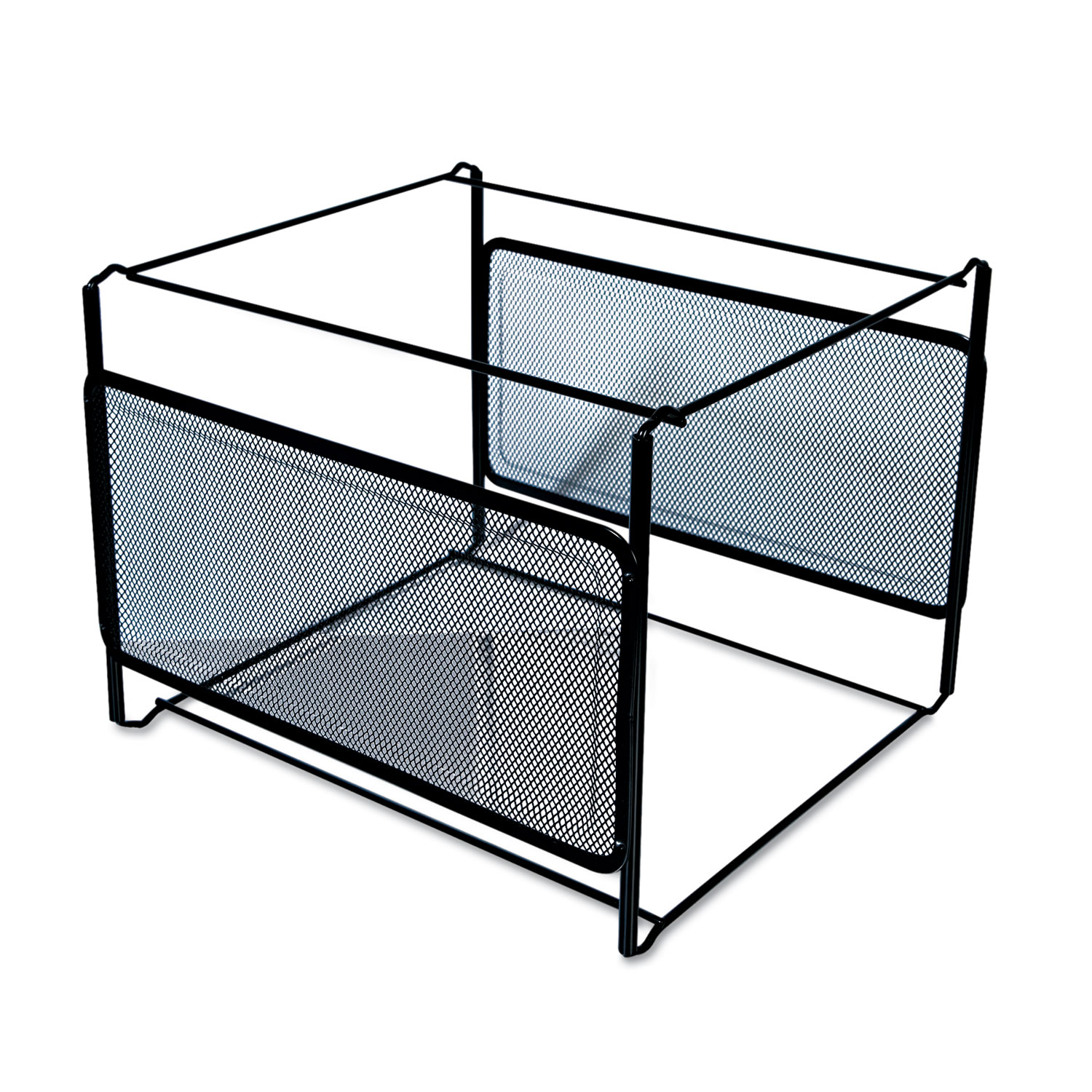 Letter Universal Office Products 20003 Mesh File Frame Holder Black