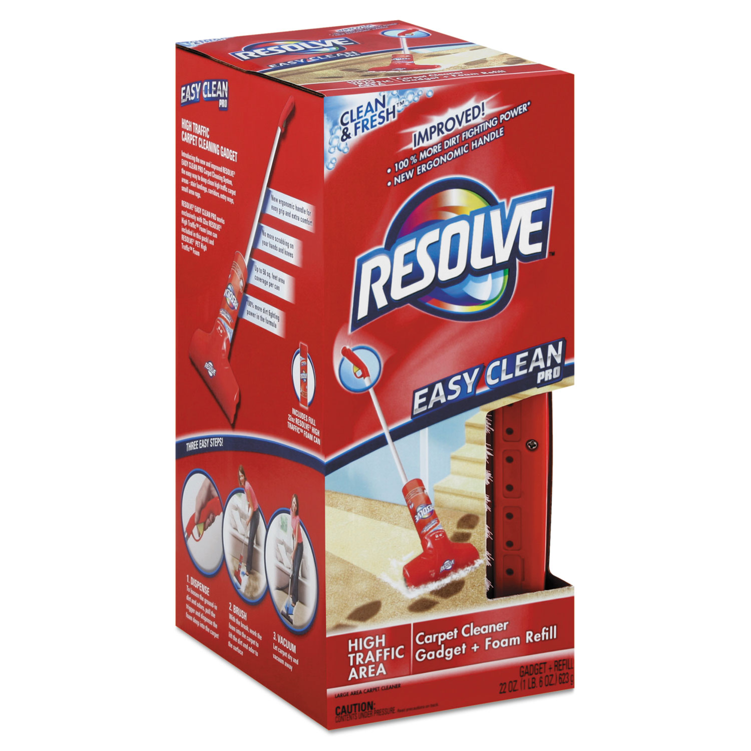Easy Clean Carpet Cleaning System W Brush By Resolve