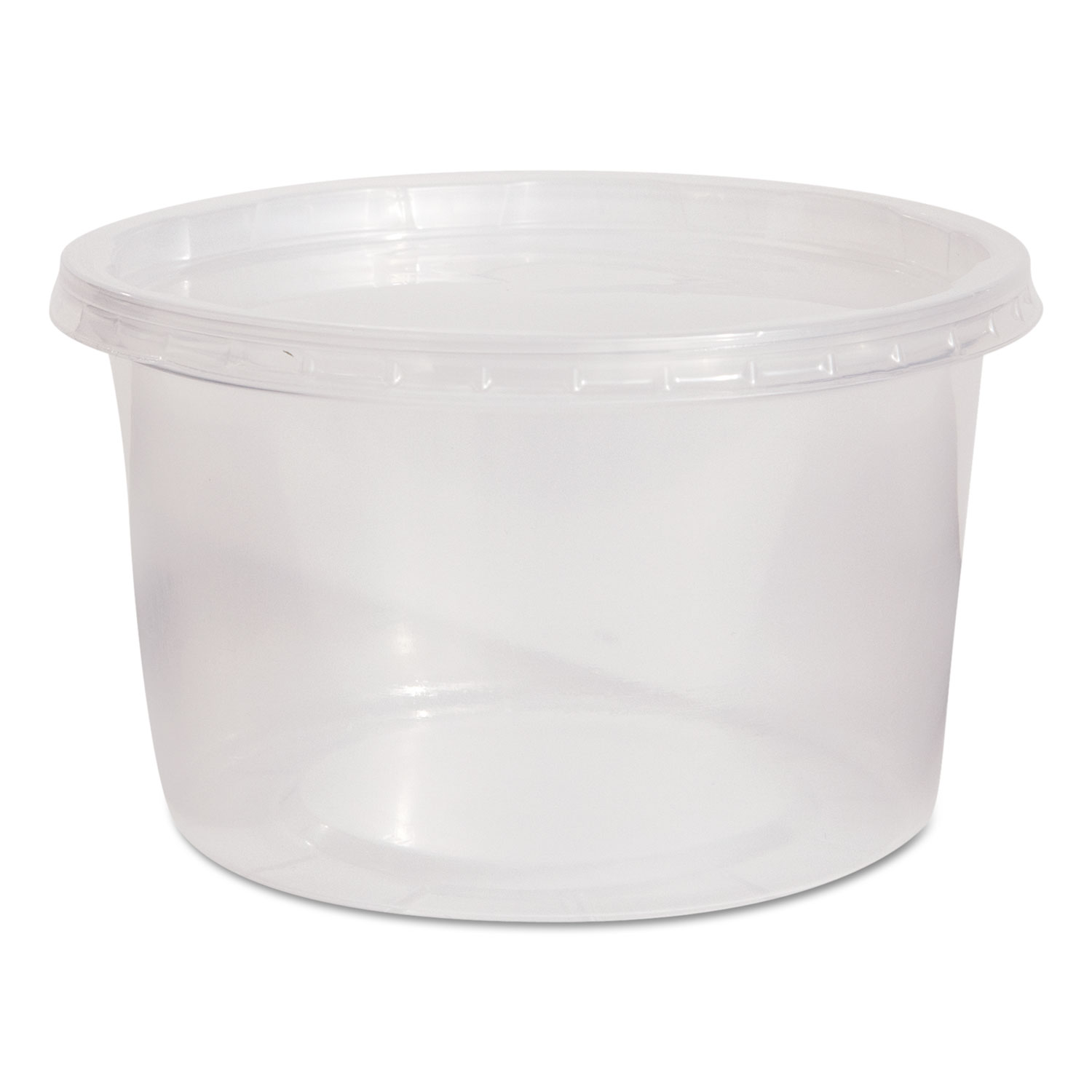 CONTAINER,W/LID,16OZ,CLR