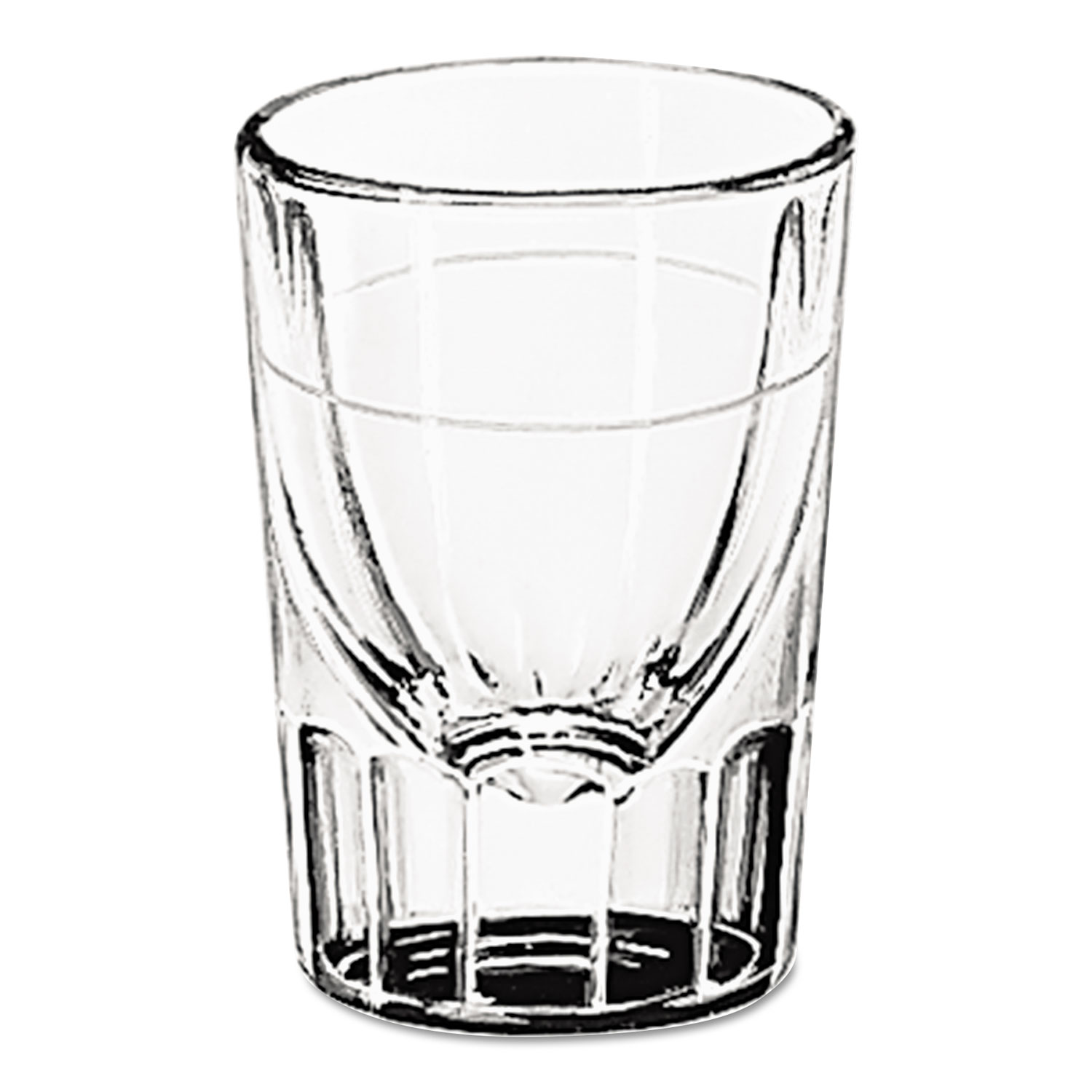GLASSES,1 1/4OZ,WHSKY,48