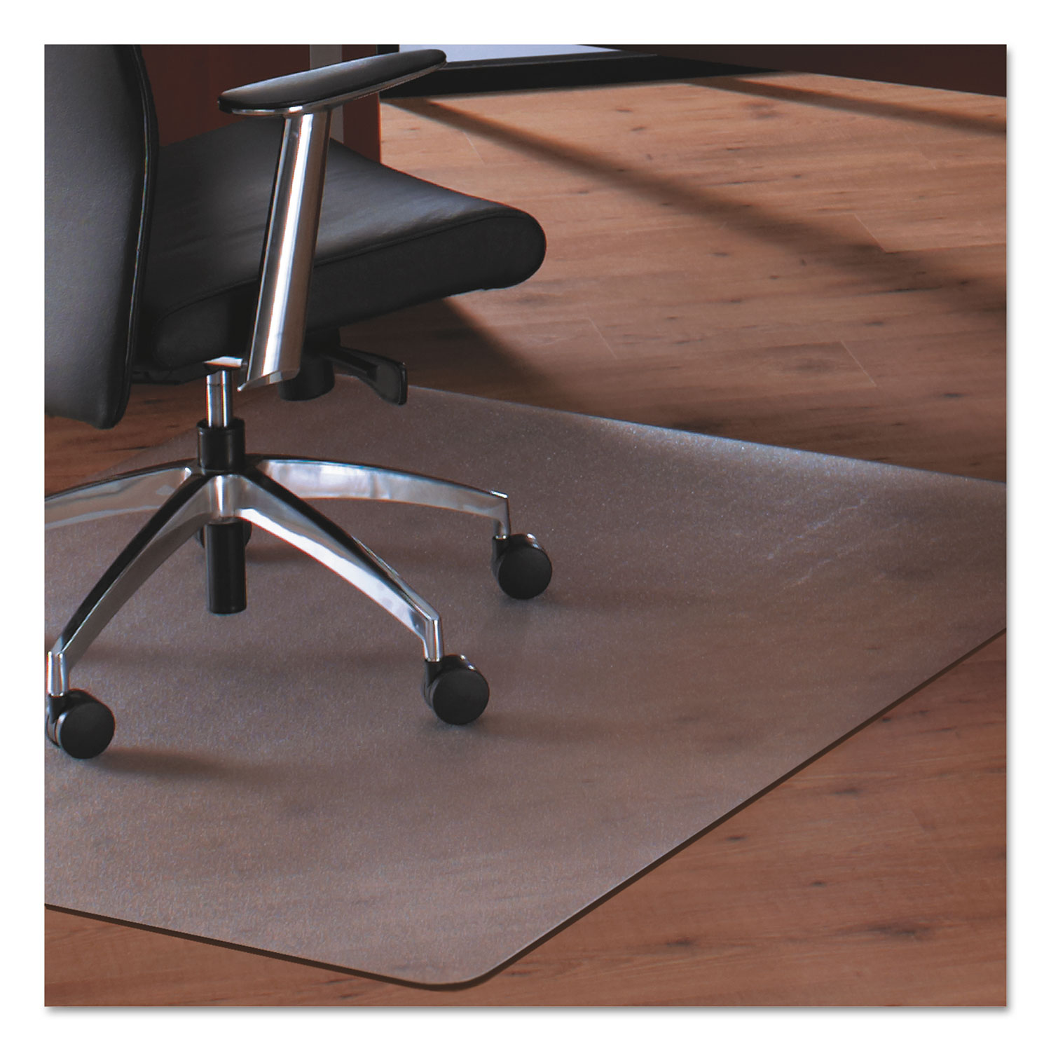 Cleartex MegaMat Heavy Duty Polycarbonate Mat For Hard Floor All Carpet 46 X