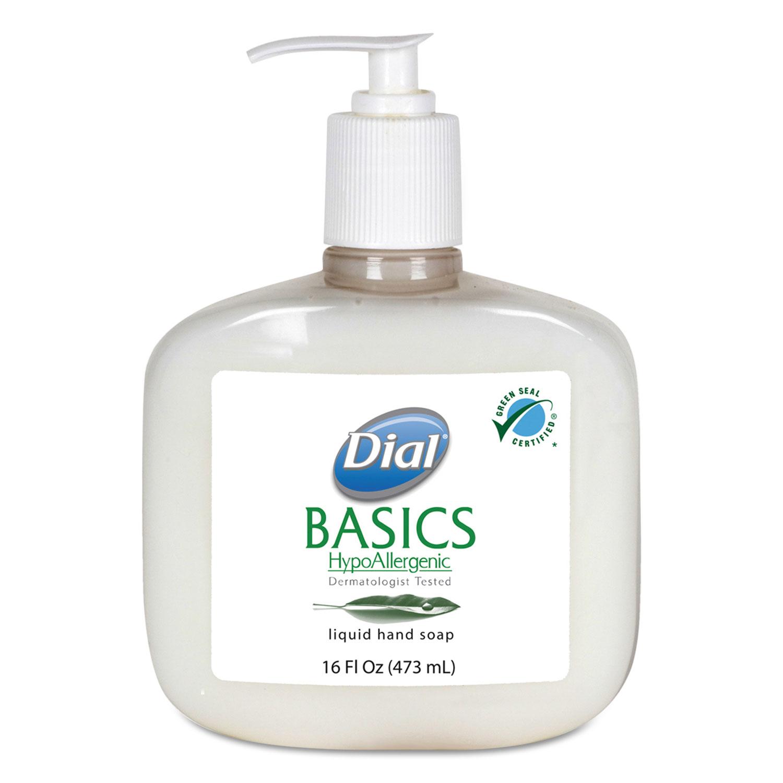 Basics Liquid Hand Soap By Dial 174 Professional Dia06044