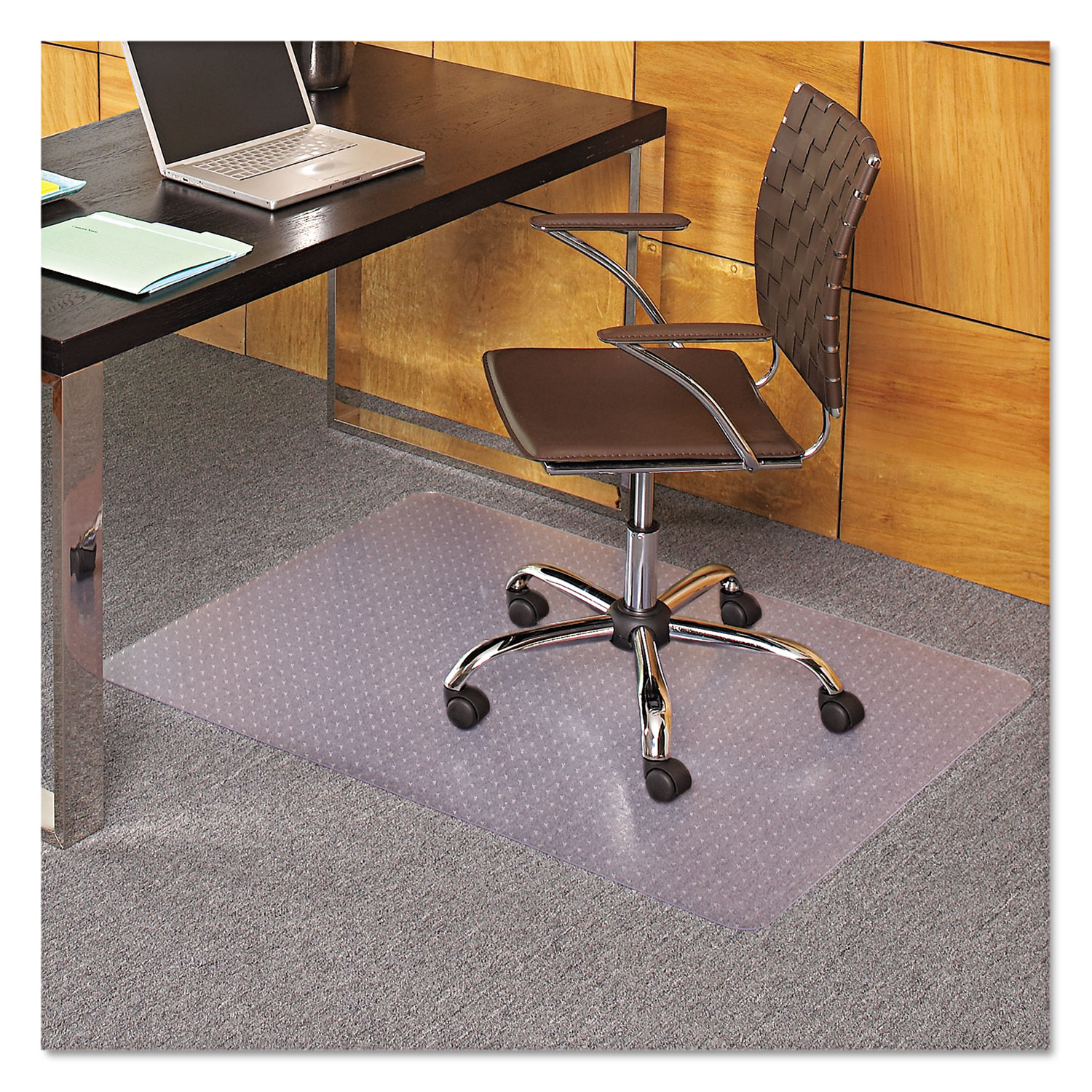 36 X 44 Rectangle Chair Mat Task Series Anchorbar For Carpet Up To