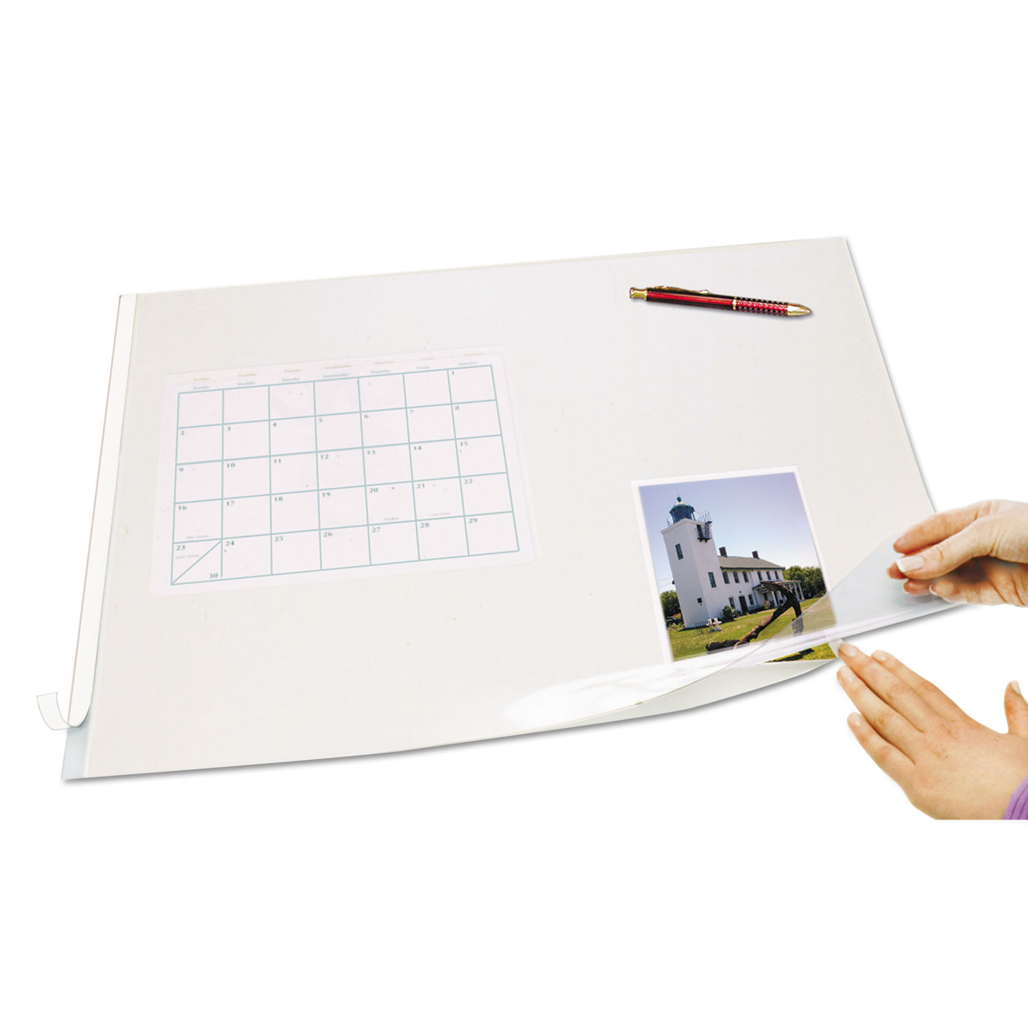 Browse Second Sight Clear Plastic Desk Protector And Other