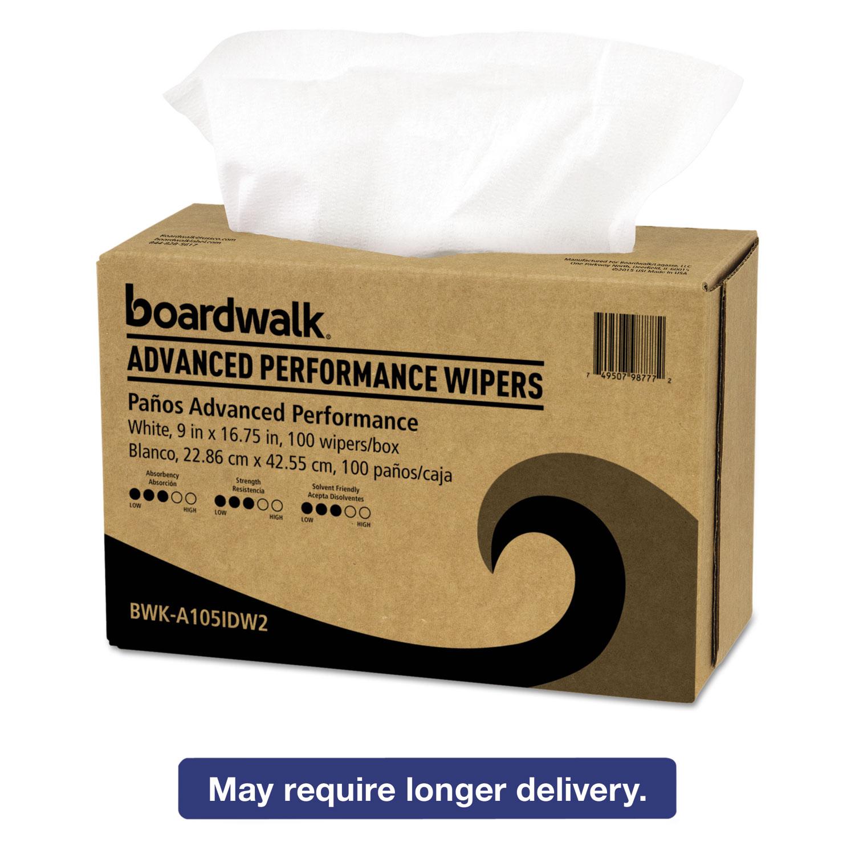 Boardwalk Sontara Wipers White 9 x 16 3 4 1000 Carton A105IDW2