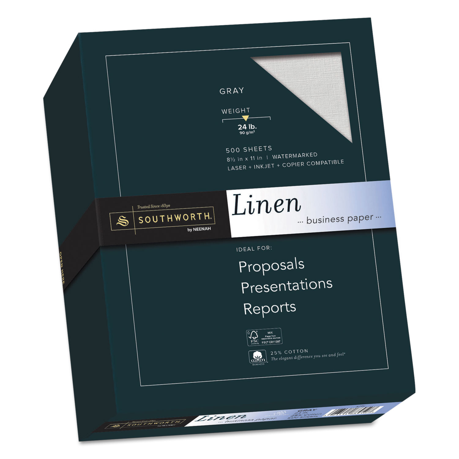 buy 25 cotton linen business paper and other resume