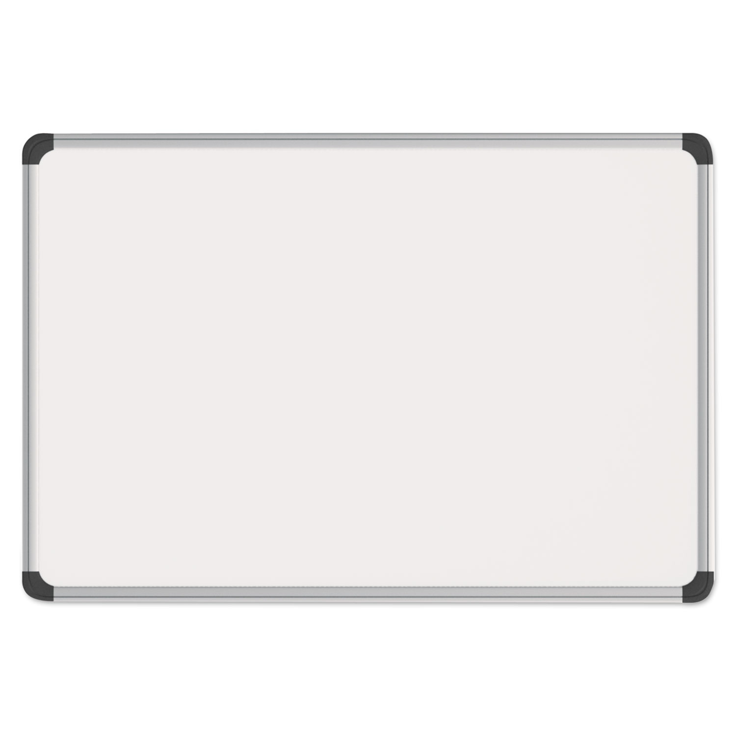 Metal Dry Erase Board : Magnetic steel dry erase board white aluminum