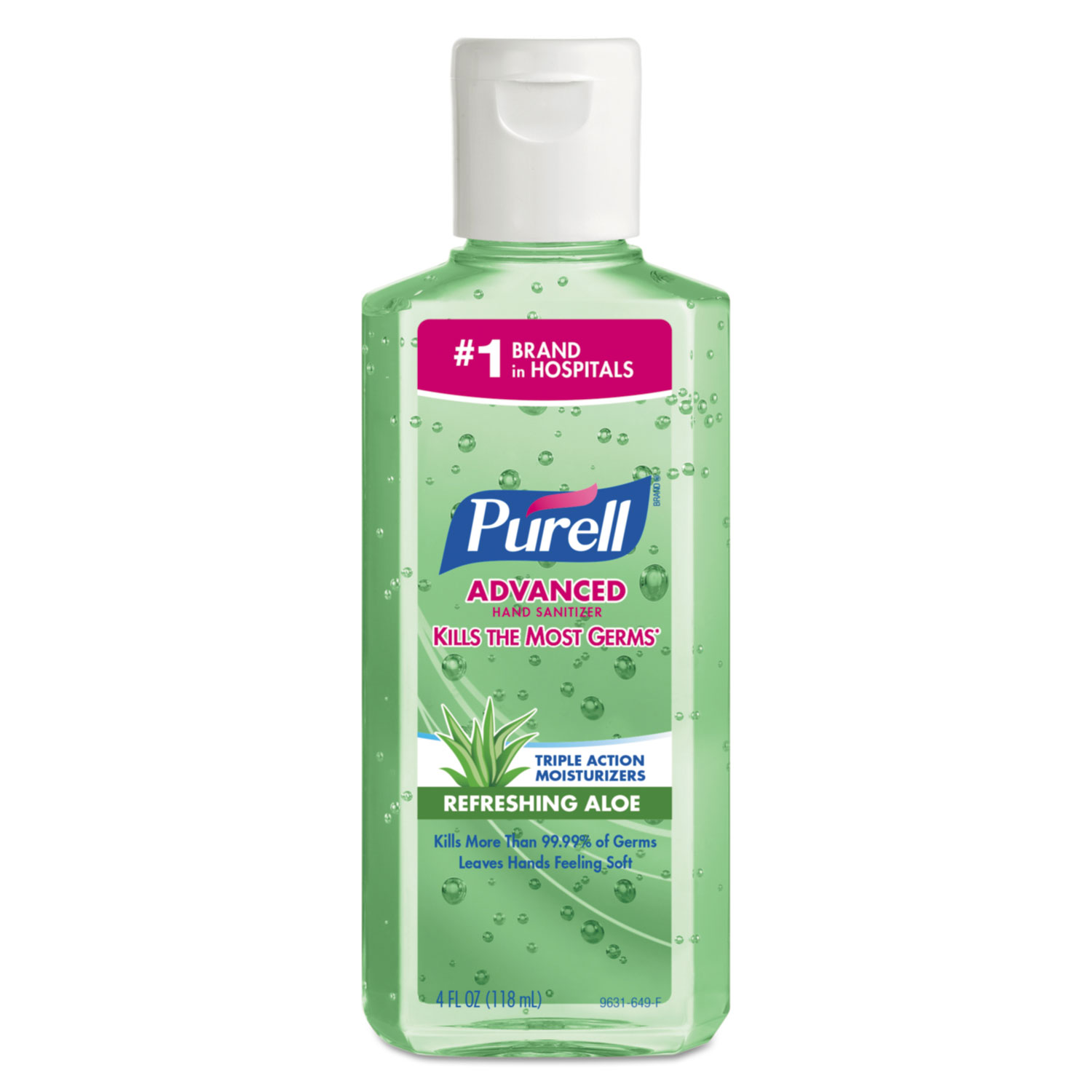Advanced Instant Hand Sanitizer W Aloe By Purell
