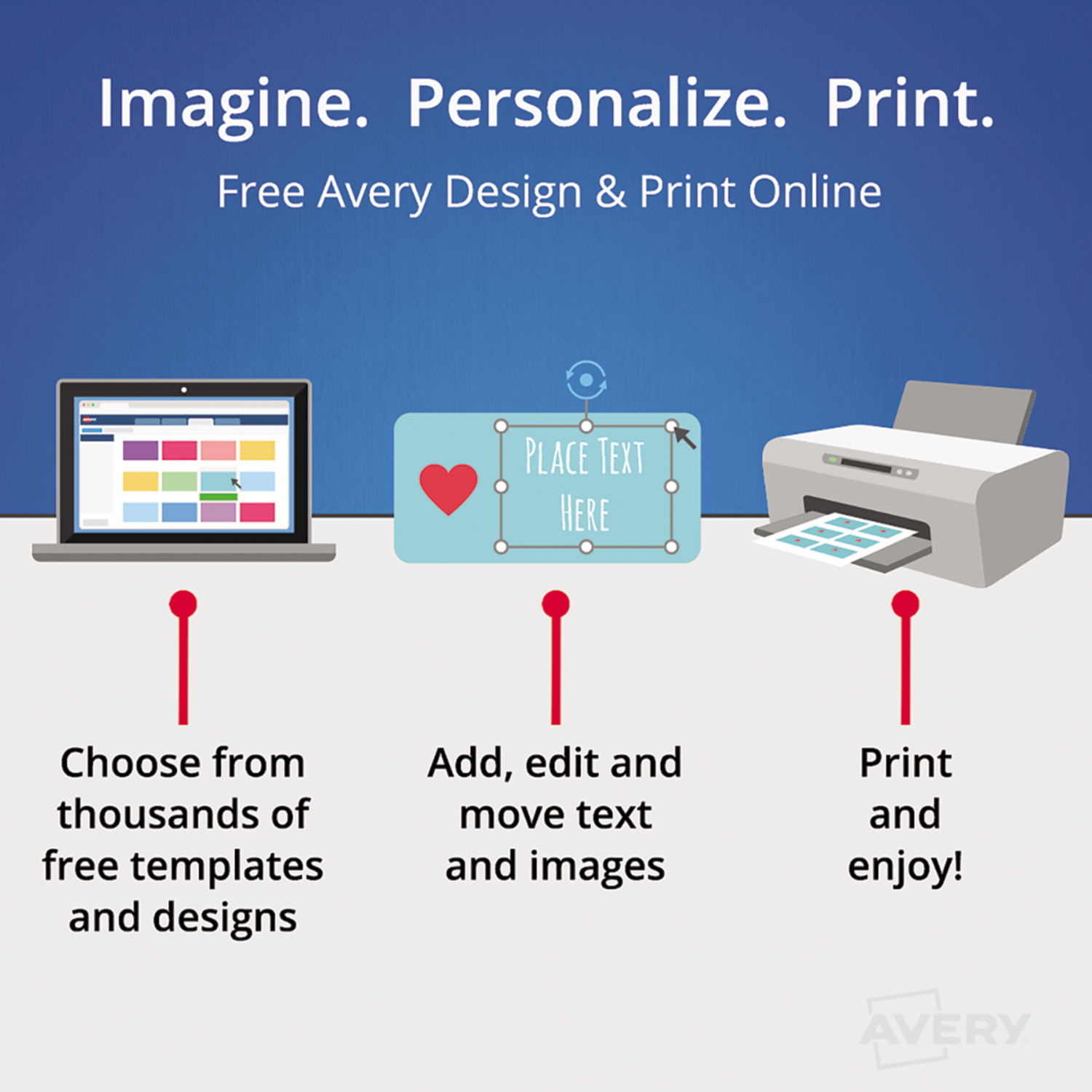 Avery Postcards For Laser Printers 4 X 6 Uncoated White 2sheet 100