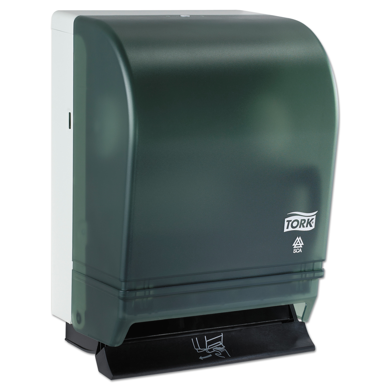 hand towel roll dispenser push bar metal