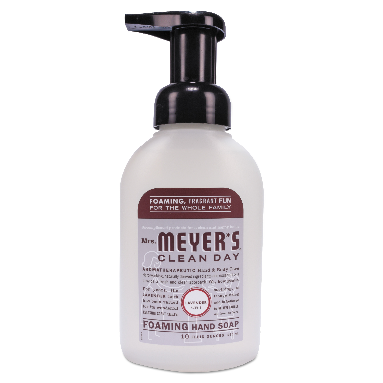 Mrs. Meyer's Foaming Hand Soap, Lavender, 10 oz, 6/Carton 66