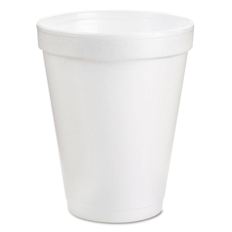 CUP,8 OZ,FOAM,1M/CTN,WHT