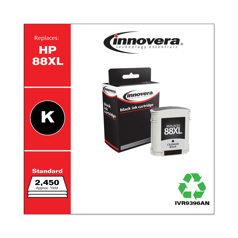 HP 88XL Premium HP C9396AN Compatible Black Inkjet Cartridge Remanufactured