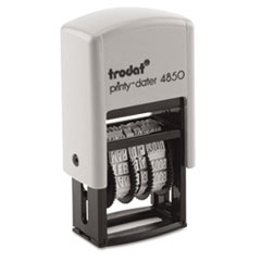 COU ** Trodat Econ Micro 5-in-1 Message Stamp, Dater, Self-Inking, 1 x 3/4, B at Sears.com